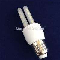 Retail 110V/220V 6W E27/E14 SMD5730 LED corn bulb lamp 16LEDS Warm white /white led lighting,5730 E14 lamp free drop shipping