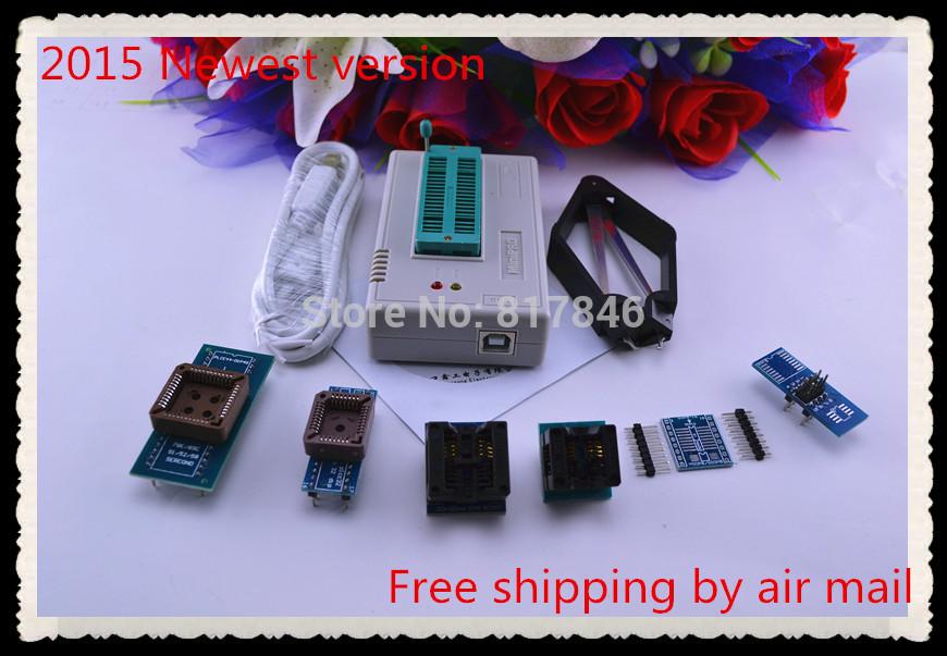Free Shipping 2015 newest version V6.1 MiniPro TL866A Prgrammer USB Universal Programmer /Bios Programme+7 pcs items(China (Mainland))