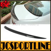 2010-2014  F10 A Style Carbon Fiber Car Rear Wing lip, Trunk Spoiler For BMW (Fits F10 528 535 550 M5 M sport ALL F10 SEDAN)