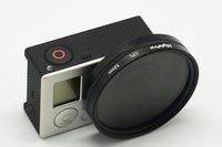 GO36 SJ4000 Professional High Transmittance Glass 30mm FPV Protective UV Lens for Gopro Hero4 / Hero3+ / Hero3
