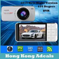 CE Free Ship Car Camera Novatek 96650 WDR Video Recorder 1920x1080 DVR G-sensor Registrator Mini Camcorder External GPS Tracker