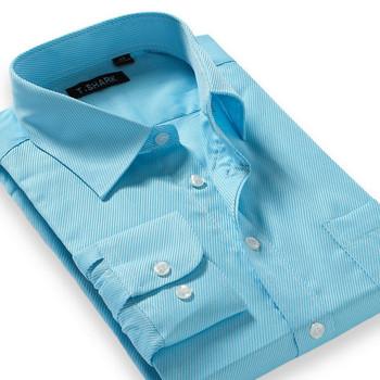 Новых людей бизнес рубашки мода 2015 с длинным рукавом отложным воротником свободного ...