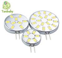 Tanbaby 2W/3W/6W G4 led lamp 6leds 9leds 18leds 5730SMD lighting bulbs DC12V white or warm white  Pendant lights