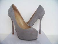 women pumps sheep velvet round toe platform high-heeled single shoes brand spring luxury shoes lx2473