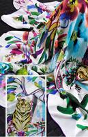Sf myvatn silk georgette long scarf