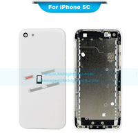A quality  back cover glass battery door housing replacement for iPhone 5C