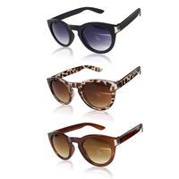 New Arrival 3 Colors Fashion Retro Unisex Color film Square Sunglasses Vintage Reflective Eyeglasses