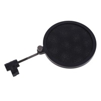 NI5L High Quality Flexible Studio Mini Microphone Mic Wind Screen Pop Filter Mask Shied Black