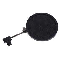 NI5L High Quality Flexible Studio Mini Microphone Mic Wind Screen Pop Filter Mask Shied Black