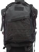 3D Backpack Bag With Adjustable Strap Military Travelling Nylon Multi-purpose ravel Backpack Bag Advanced Tactical Green Black