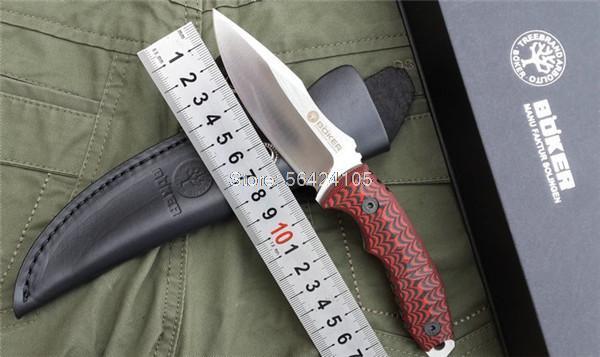 Охотничий нож Boker D2 G10