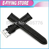 14mm 16mm 18mm 19mm 20mm 21mm 22mm 24mm Genuine Leather Watchband Strap Pre-v Buckle for Omega Bracelet for Breitling Mens