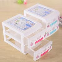 New Design PP Cosmetic Organizer Drawer Makeup Case Storage Insert Holder Box 2344