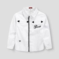 Retail Brand Casual Popular Shirts 2015 Spring Dress New Children Shirts Long Sleeve Cotton Kids Shirts Boy's Shirts vestidos