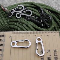 NI5L High Quality Alloy Carabiner Camp Snap Clip Hook Keychain Keyring Hiking Climbing Tool