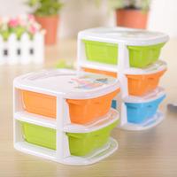 3 green orange blue pp mini storage box desktop drawer jewelry storage box 1pcs YB-1407-B