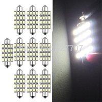 10 X 42mm 16 SMD LED White Car Dome Festoon Interior Light Bulb White Lighting