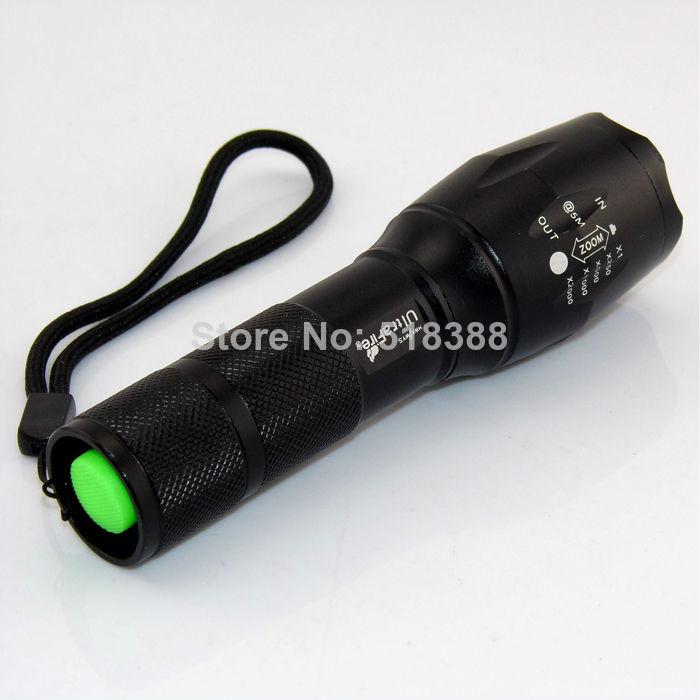 1800 Lumen High Power Zoomable CREE XPE Q5 LED Flashlight Torch Waterproof Flash Light Dropshipping(China (Mainland))