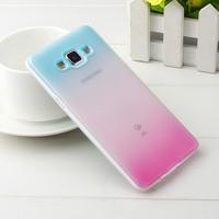 Galaxy A5 TPU rainbow Case,Gradient TPU Soft Case for Samsung Galaxy A5 A5000 + 10pcs/lot retail freeship