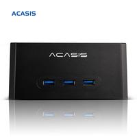 10067TW Acasis BA-13USH Multifunction 3.5-inch SATA USB3.0 HDD Charging Docking Station with HUB Splitters Black Support 4TB FS
