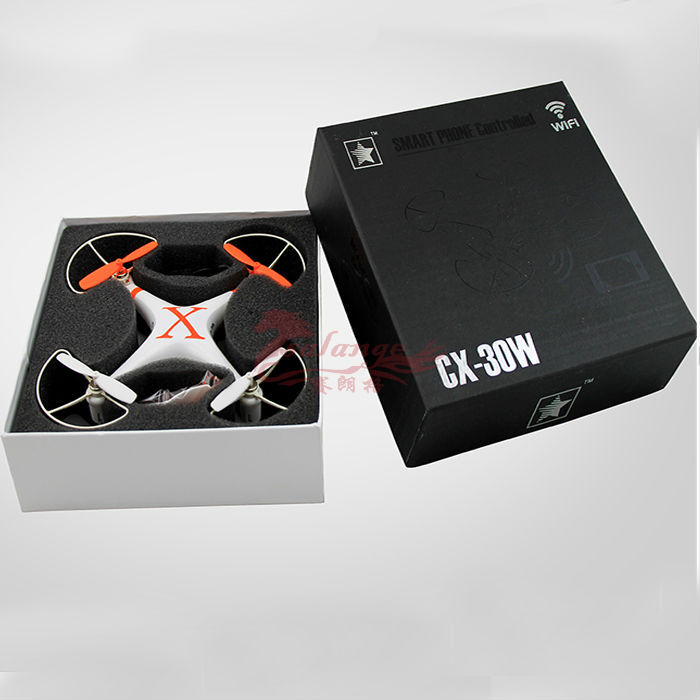 2015 Free Shipping Tablet PC Control Quadcopter by WiFi Airplane Control Airplane Model Original CX30W WiFi