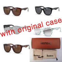 WG with case 2015 illesteva sunglasses oculos illesteva women brand designer vintage fashion summer eyewear illesteva gafas 6629