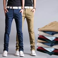 Free shipping! 2014 men's high quality cotton harem pants new limited edition unique pocket double waist design men trousers