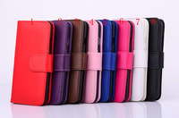 Wallet PU Leather Case Cover Pouch with Card Slot case For Iphone 6 case Iphone 6 plus