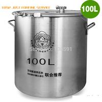 Big capacity High quallity 100L barrel,keg stainless steel  fermentation tanks, 3d beer liquor wine fermenters thermostat bucket