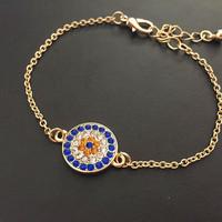 6pcs/lot  fashion women jewelry accessories evil eye bracelet