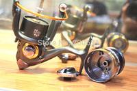 2015 NEW Hot Sale Fishing Reel 10BB + 1 Bearing Balls 2000- 6000 Series Spinning Reel/ carp fishingshimano fishing/ ice fishing