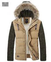 UDOD Winter Brand Men Down Jacket Winter Parka Men Down Duck Coat 90% White Down Warm Overcoat Outwear M L XL XXL XXXL EBYR010
