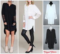 women casual shirt loose 2015 spring autumn summer shirt fashion all-match long Blouses long sleeve white black