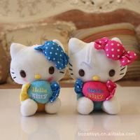 18cm Candy Hello Kitty Doll 7 Inch hello kity Plush Toys Wholesale hello kitty toys