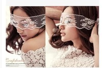 new bride Lei Simeng eye yarn photo studio props wedding photography props theme props pictures
