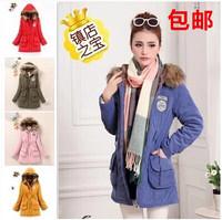 2015 New Long Parkas Female Women Winter Coat Thickening Cotton Winter Jacket Womens Outwear Parkas for Women Winter