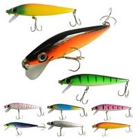 2015 New arrival Lot 9pcs Plastic Minnow Fishing Lures Swimbait Life-like Shad Bass 8.5g 9cm