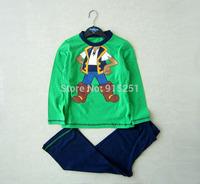 baby toddler boys cartoon Pajamas shirt&pants sleepwear set cartoon suits costumes children homewear spring autumn