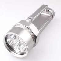 huntting flashlight, Waterproof  6xCREE XM-L T6 4500LM LED Flashlight   , free shipping