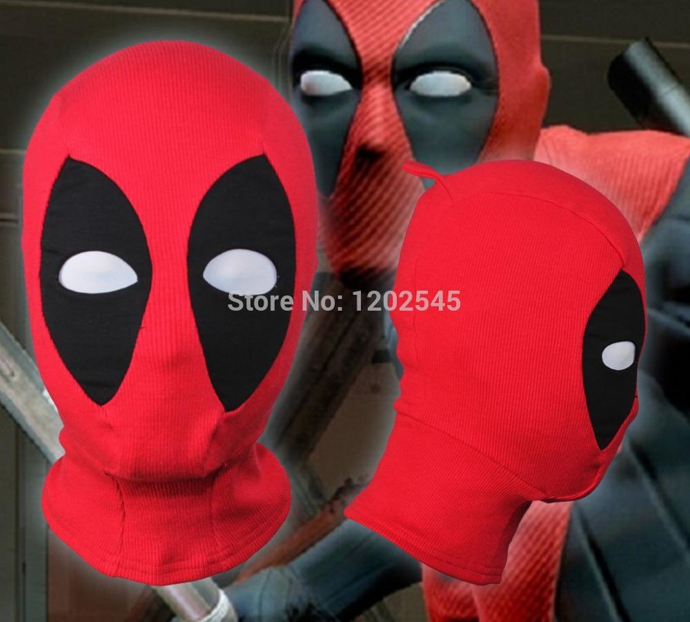 New U.S Deadpool Masks JLA Balaclava Halloween Cosplay Costume X-men Hats Headwear Arrow Deathstroke Rib Fabrics Full Face Mask(China (Mainland))