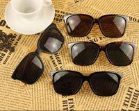 WHOLESALE Japan Handmade Quality Bamboo sunglasses Rivet retro wayfarer sun Glasses spectacles Black Tortoise sun shades UV400