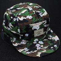 2015 new 5 panel cap camo floral adjustable snapback caps for men and women baseball hats sports hip hop bone fashion gorras hat