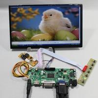 HDMI+DVI+VGA lcd Controller board+10.1inch N101BCG-L21 1366*768 IPS Lcd panel