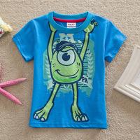 Hot sale New 2015 Kids Baby Girls Boys Spiderman Hero T-shirt long Sleeve kids Tops 100%cotton children's tops