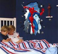 Large Spider Man Mural Removable Wall Sticker DIY Vinyl Decal Kids Room Decor em