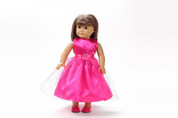 "Free shipping!!!  18"" American girl doll clothes/dress Give children the best Christmas gift B218"