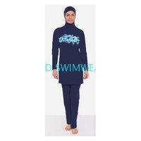 New 2015 women Swimsuit Muslim Swimwears Islamic  Beach Swimsuits