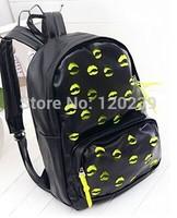 2015 RAXH hollowed-out Lip backpack Fashion Student bag Hot sale bag women bag