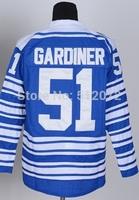 Toronto #51 Jake Gardiner Men's Authentic 2014 Winter Classic Blue Hockey Jersey