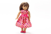 "Free shipping!!! hot 2014 new style Popular 18"" American girl doll clothes/dress Christmas gift B217"